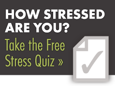 how to know if your stressed quiz
